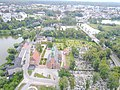 Kartuzy carthusian monastery aerial photograph 2019 P05.jpg