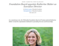 Katherine Maher gets appointed as Executive Director WMF Official Blog Post.png