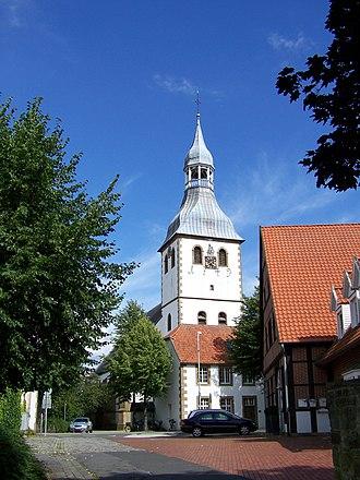 Hopsten - Image: Katholische Kirche Hopsten