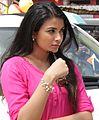 Kavya Shetty During Ishtakamya Shoot.JPG