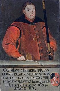 Kazimier Leŭ Sapieha. Казімер Леў Сапега (1709).jpg