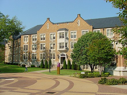 University of North Alabama, Florence, Alabama, an example of teacher colleges expanding into comprehensive public state universities. Keller-hall3.jpg