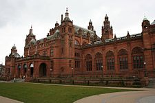 Kelvingrove Art Gallery and Museum, Glasgow, Skócia