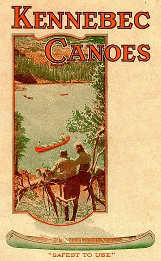 Kennebec Boat and Canoe Company - Image: Kennebec 1922 front