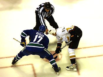 Centres Ryan Kesler of the Vancouver Canucks a...