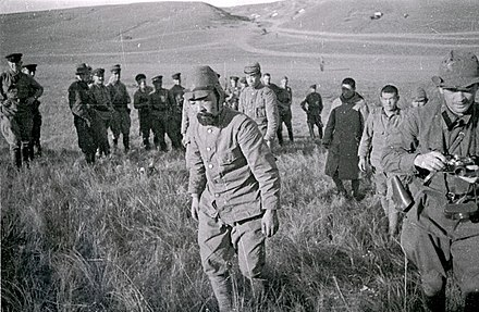 Captured Japanese soldiers Khalkhin Gol Captured Japanese soldiers 1939.jpg