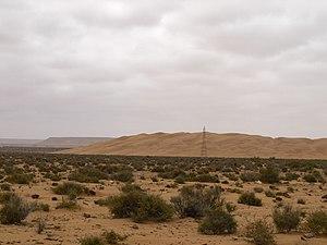 Tarfaya Province - Dunes in Khenifiss National Park