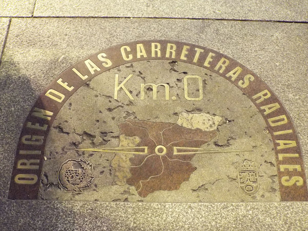 Kilómetro cero, Madrid.JPG