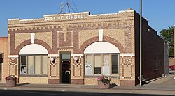 Kimball City Hall, 2010
