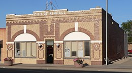 Kimball, Nebraska city hall from SW 1.JPG