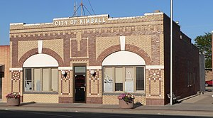 Kimball, Nebraska - Kimball City Hall
