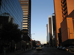 King Street (Hamilton, Ontario) - King Street West, looking East