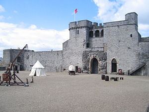 King John's Castle (Limerick) - Castle Courtyard