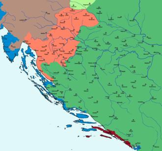 Siege of Gvozdansko - Image: Kingdom of Croatia 1573