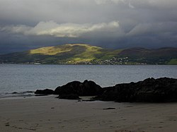 Kinnegar Head view across Lough Swilly to Lisfannan - geograph.org.uk - 402320.jpg