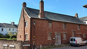 Kirkham House - Northern aspect of Kirkham House