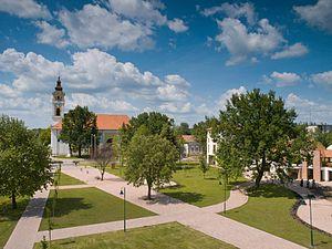 Kistelek - Aerial view