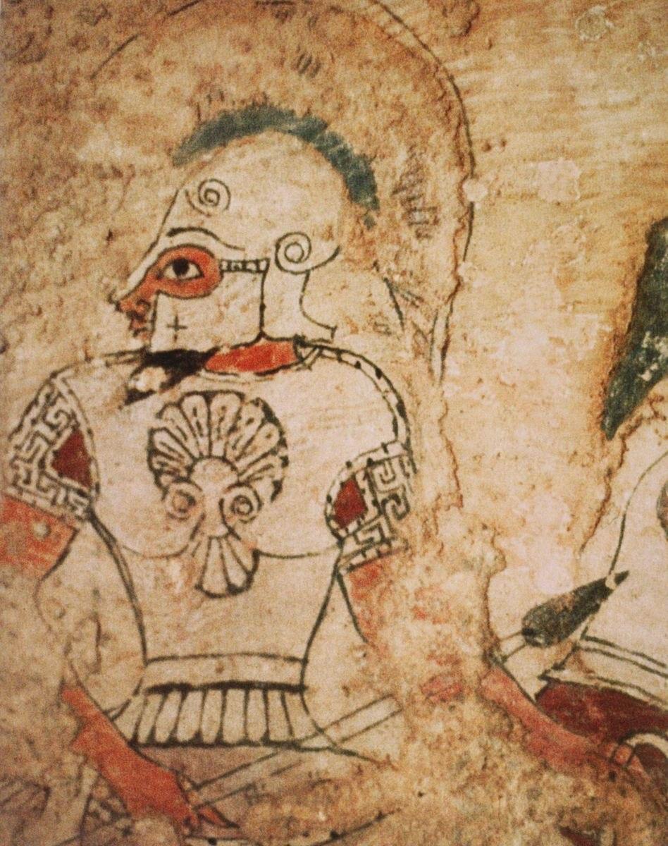Kizilbel Elmali tomb warrior
