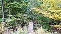 Kleindenkmal, Gottlob Reichardt Gedenkstein von 1920, Zur Erinnerung an Gottlob Reichardt von Hildrizhausen. Er verunglückte hier am 16. April 1920. Zwei Stunden später ist Er den Verletzungen erlegen. Denk o Mensch an - panoramio.jpg