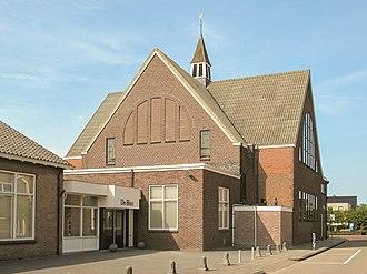 Kollumerzwaag - Image: Kollumerzwaag, de Gereformeerde kerk foto 5 2013 08 25 15.22