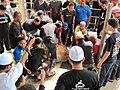 Korban lembu di ladang 16, UPM, Malaysia..JPG