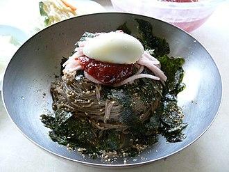 Mak-guksu - Image: Korean.food Makguksu 01