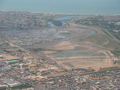 How to get to Korle Lagoon with public transit - About the place