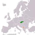 Kosovo Slovakia Locator.png
