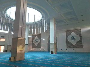 Kota Iskandar Mosque - Kota Iskandar Mosque prayer hall