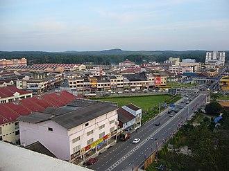 Kota Tinggi - Image: Kota Tinggi Town