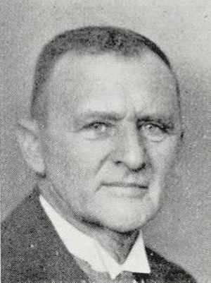Kristian Geelmuyden - Kristian in a photo from before 1933.