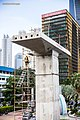 Kuningan SCBD Pilar construction.jpg