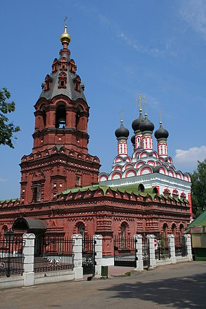 Kuntsevo Cemetery - A 17th-century church