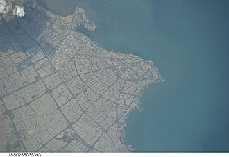 Kuwait City - Aerial view of Kuwait City