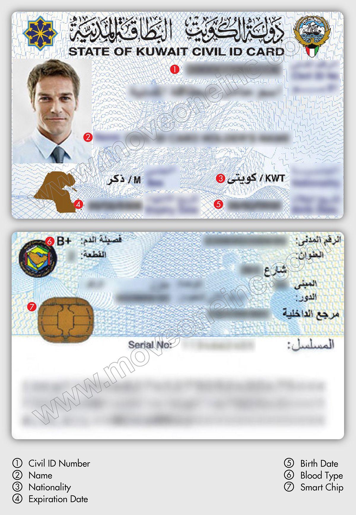 Kuwaiti Identity Card Wikipedia