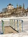 Kyiv Feofania park - Winter lake.jpg
