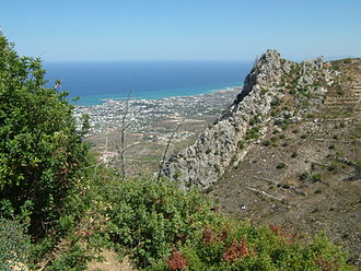 Climate of Cyprus - Mountainous Geography from Northern Side