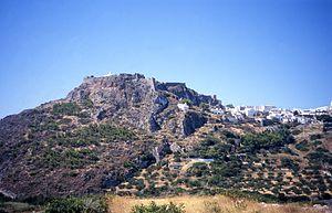 Kythira - View of Kythira Castle