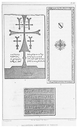 Victor Langlois - Image: LANGLOIS(1861) p 379 INSCRIPTIONS ARMENIENNES DE TARSOUS