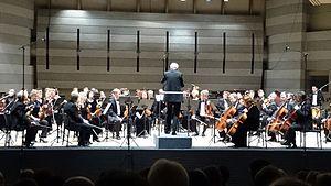 Gintaras Rinkevičius - Rinkevičius with Lithuanian State Symphony Orchestra in Kongresų rūmai