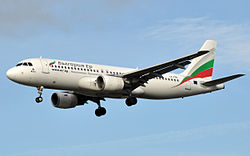 Airbus A320-200 der Bulgaria Air