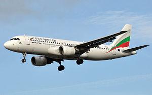 Bulgaria Air - Bulgaria Air Airbus A320-200