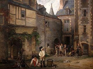 L'espion, scène de la Chouannerie