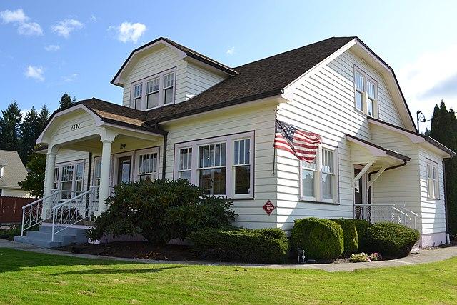 File lasells d stewart house cottage grove oregon jpg for Building a home in oregon