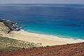 La Graciosa Playa de los Conchas from Montaña Bermeja2.jpg