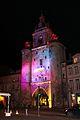La Tour de la Grosse Horloge illuminée, Noël 2009 (12).JPG