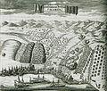La bataille devant Calamata - Dapper Olfert - 1688.jpg