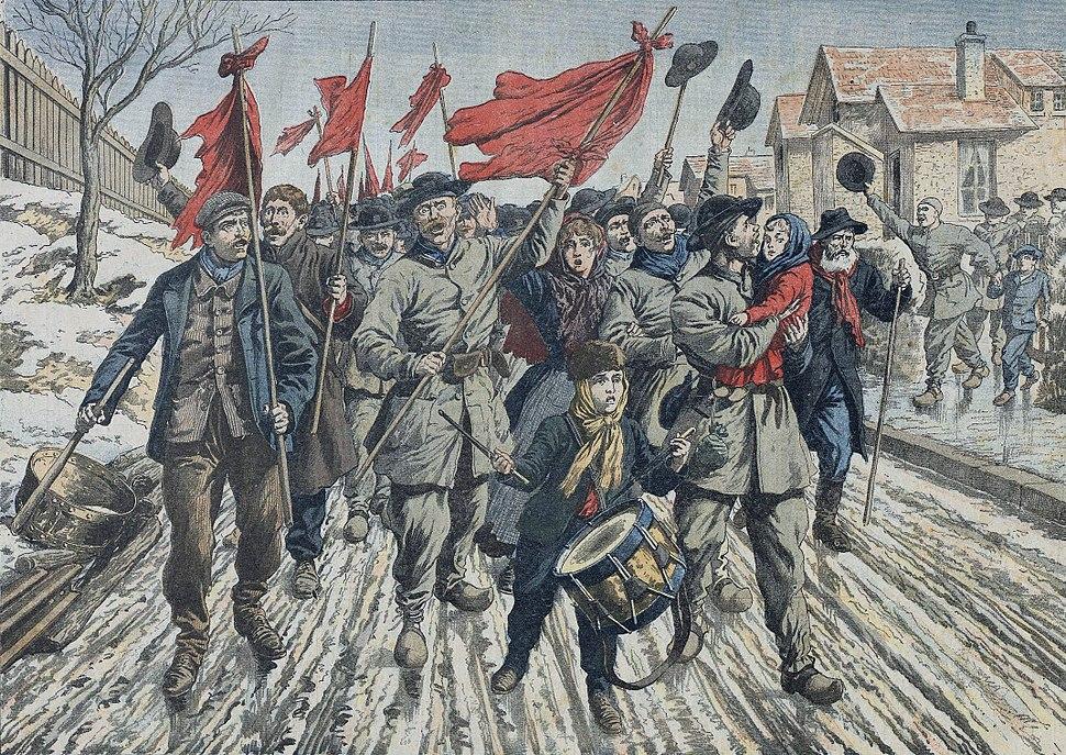 La gr%C3%A8ve des mineurs du Pas-de-Calais, 1906