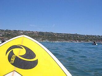 La Jolla Shores - Image: La jolla shores from ocean 800px