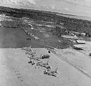 Royal Malaysian Air Force - Labuan Air Base with CAC Sabre in 1965, today became the main airfield for East Malaysia.